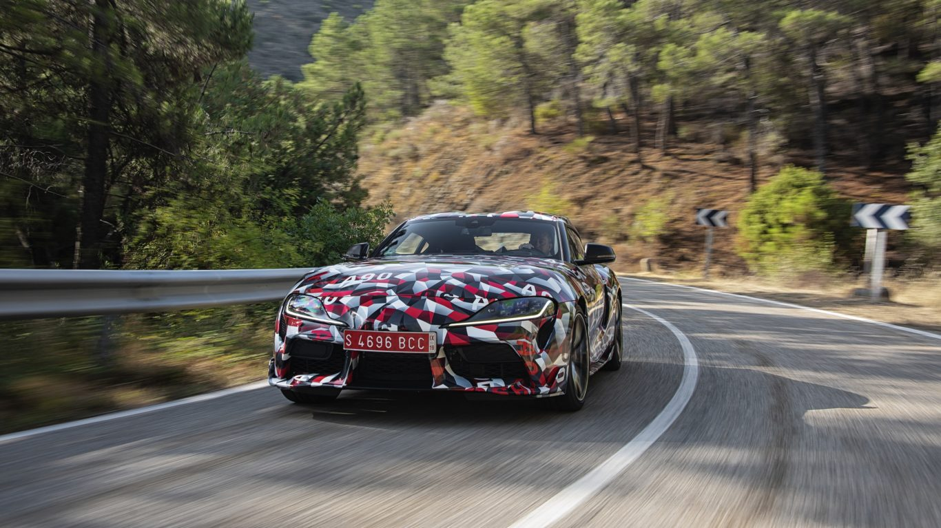 First 2020 Toyota Supra Will Be Auctioned Off On January 19