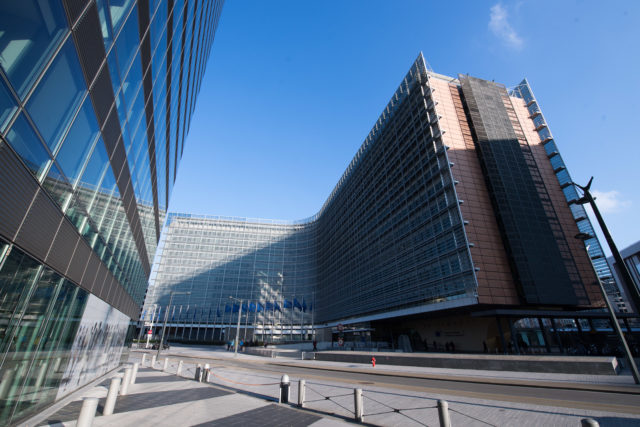 The European Commission's Berlaymont HQ in Brussels