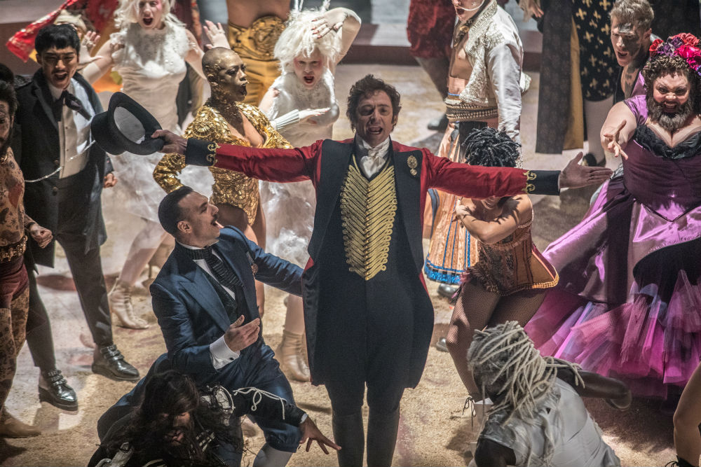 Hugh Jackman stars in The Greatest Showman