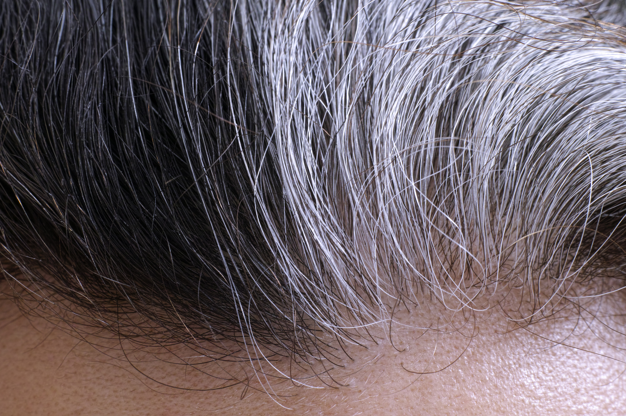 Going gray hair