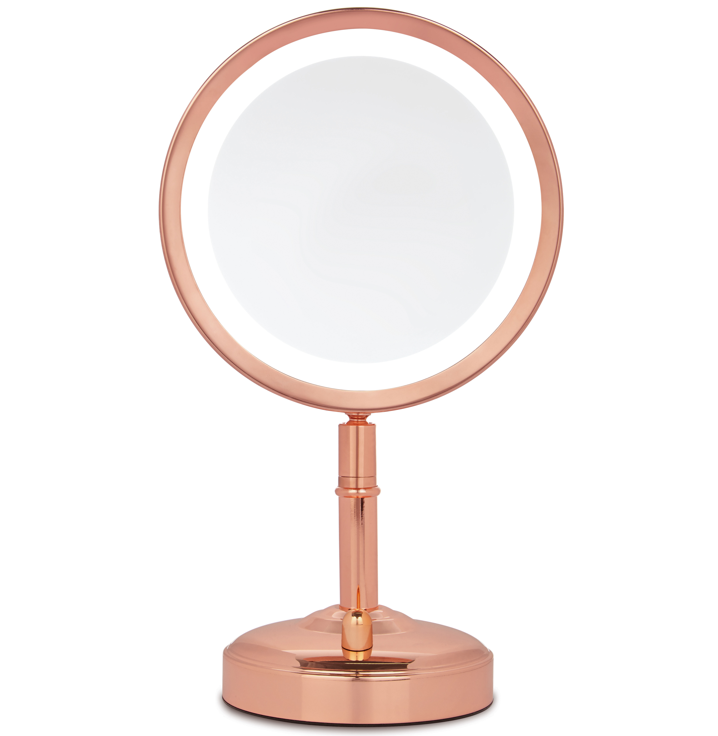 No7 Rose Gold Illuminated Make-up Mirror