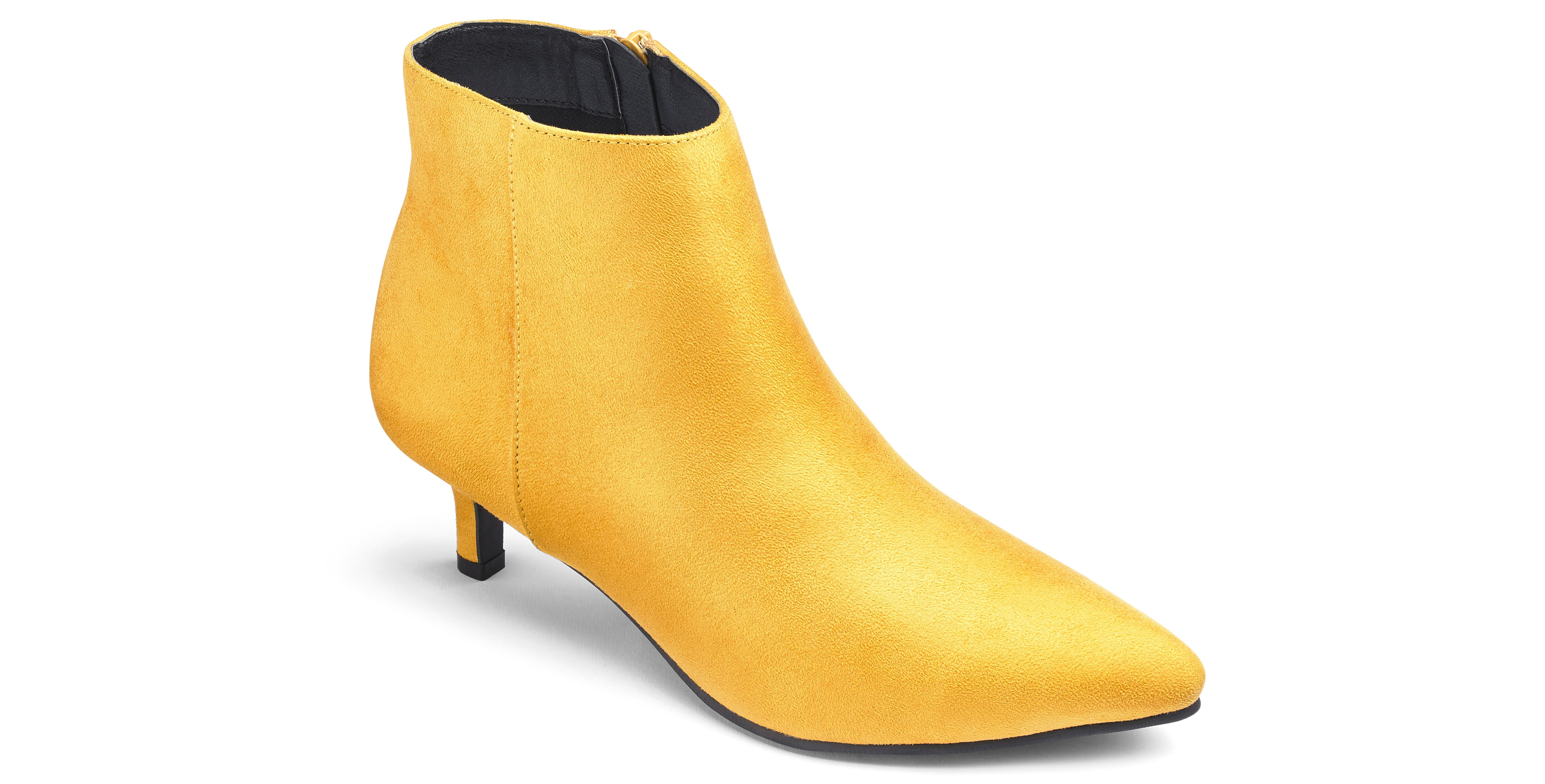 JD Williams Marigold Flexi Sole Kitten Heel Ankle Boots