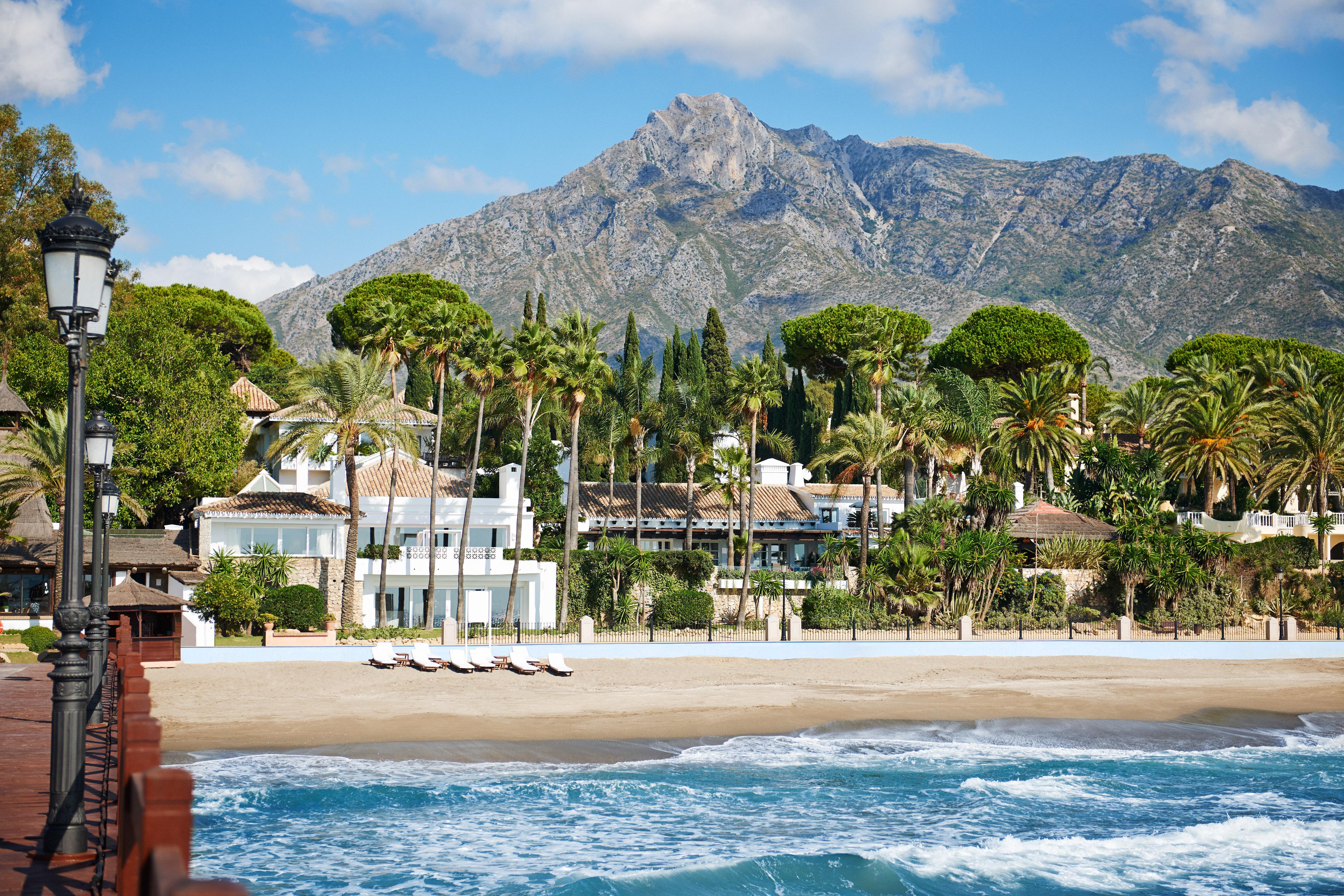 The beach at Marbella Club
