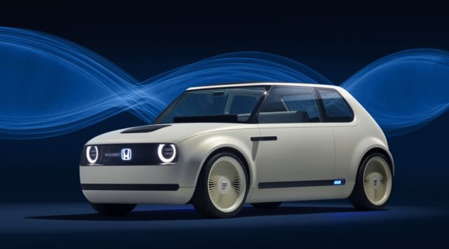 You'll be able to buy a Honda Urban EV this year
