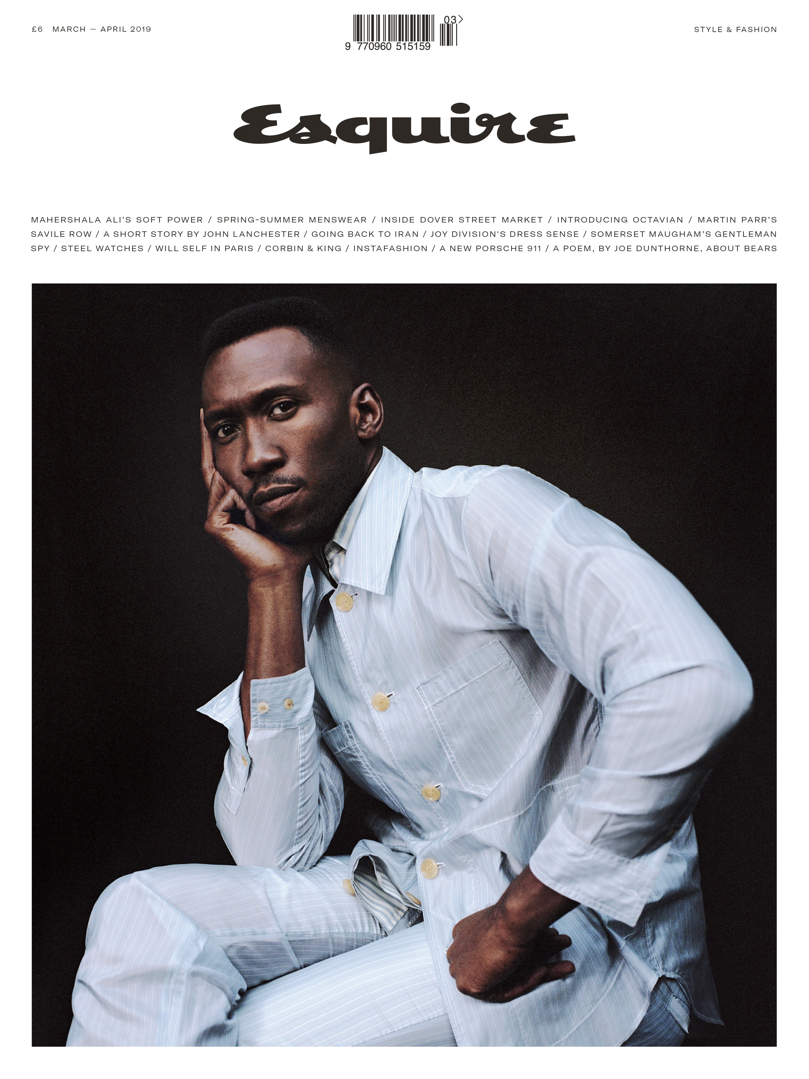 The cover of Esquire UK