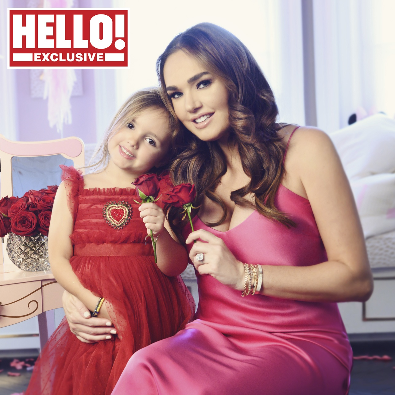 Tamara Ecclestone with daughter Sophia