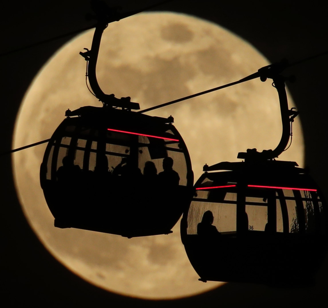 'Don't miss it': 2019's brightest supermoon set to light up the sky