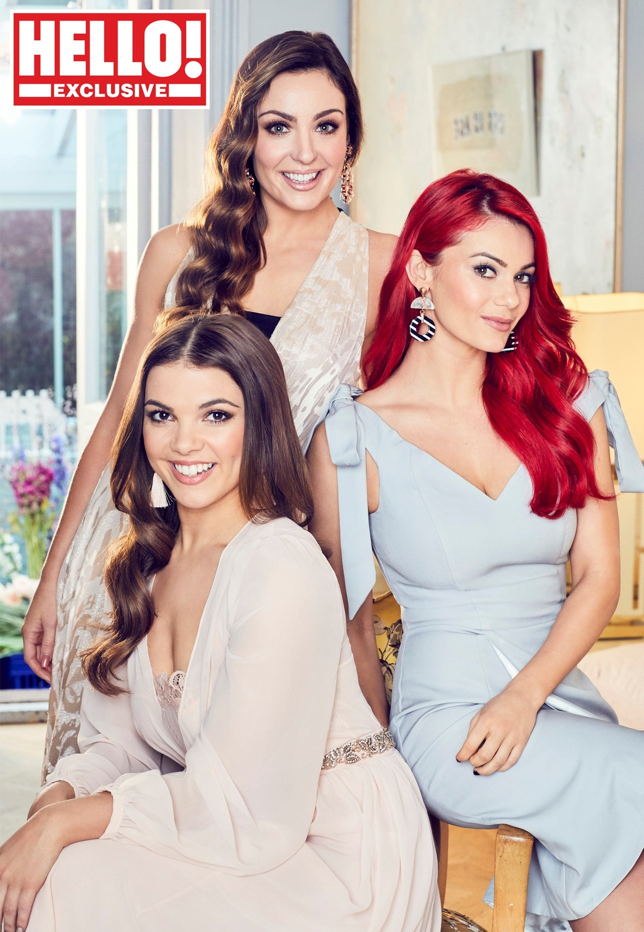 Amy Dowden, Dianne Buswell and Chloe Hewitt