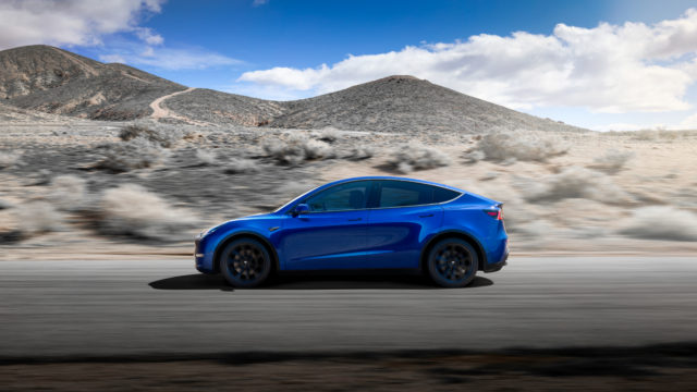 This is the Tesla Model Y