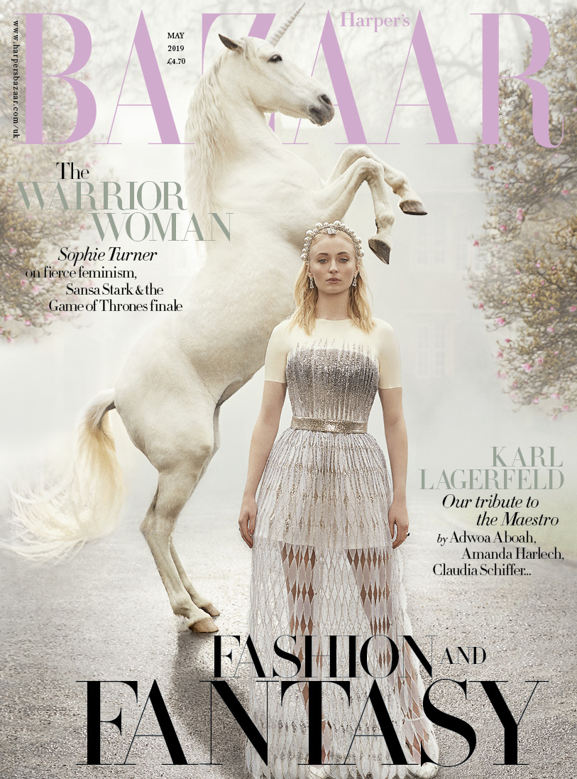 The cover of  Harper's Bazaar UK