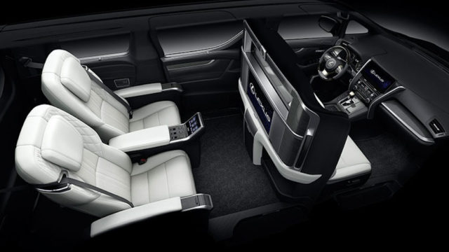 Lexus LM upgrades Toyota Alphard from Business to First class