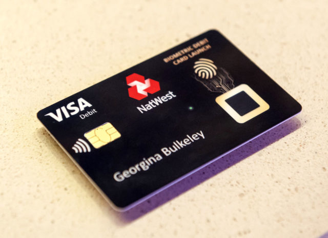 RBS unveils biometric fingerprint card UK News