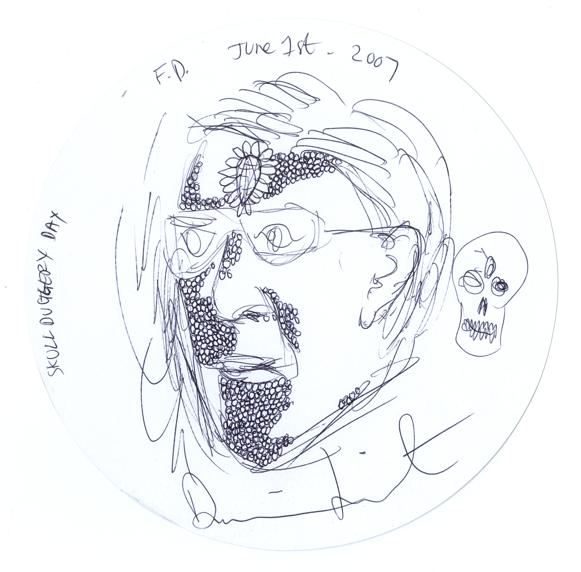 Damien Hirst Portraits With Coffee Stains Given To British Museum The Irish News