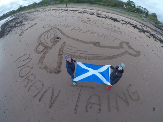 A Clean Planet event has been held at Cramond Beach in Edinburgh (Have You Got The Bottle/MCS/PA)