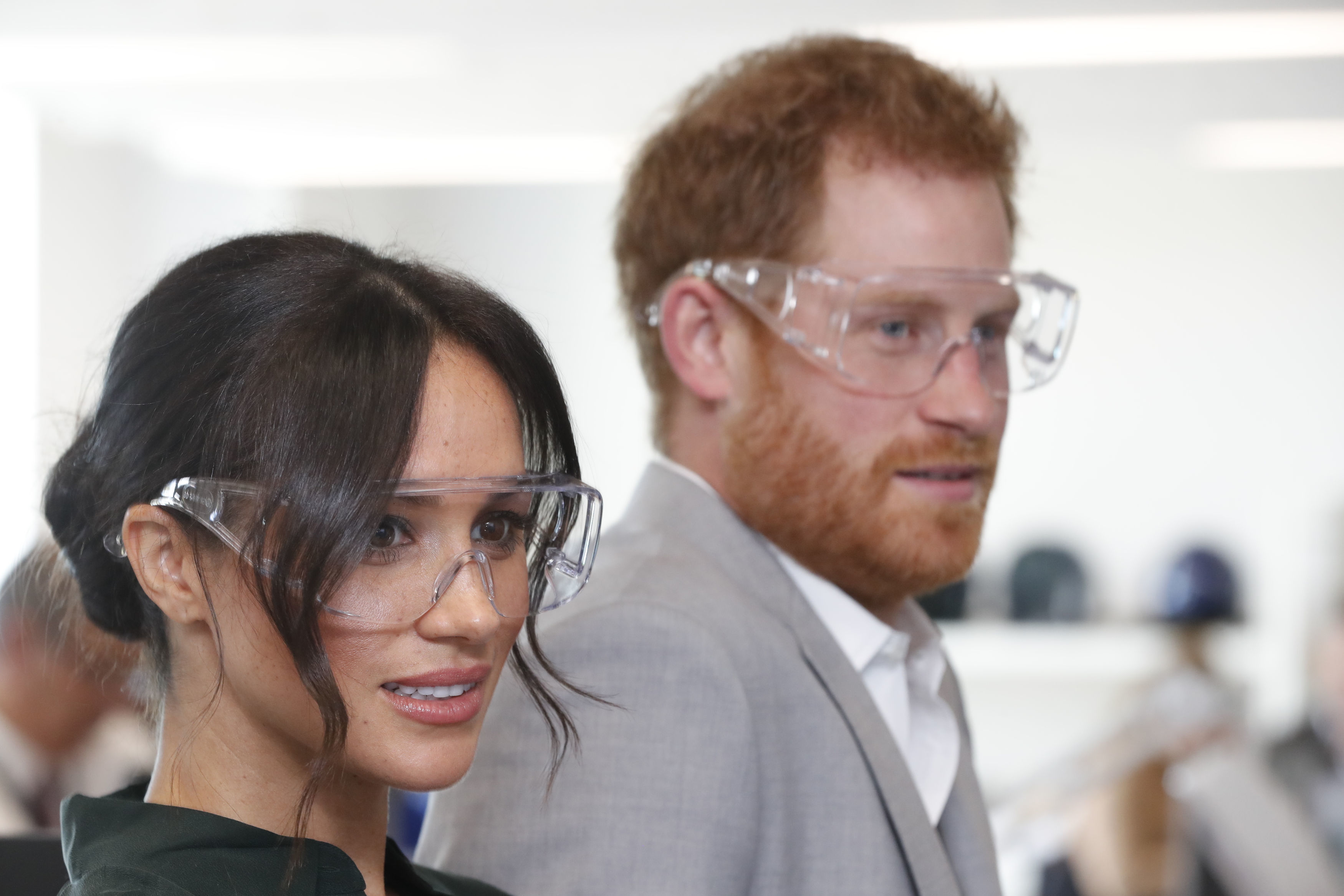 Harry and Meghan in Sussex