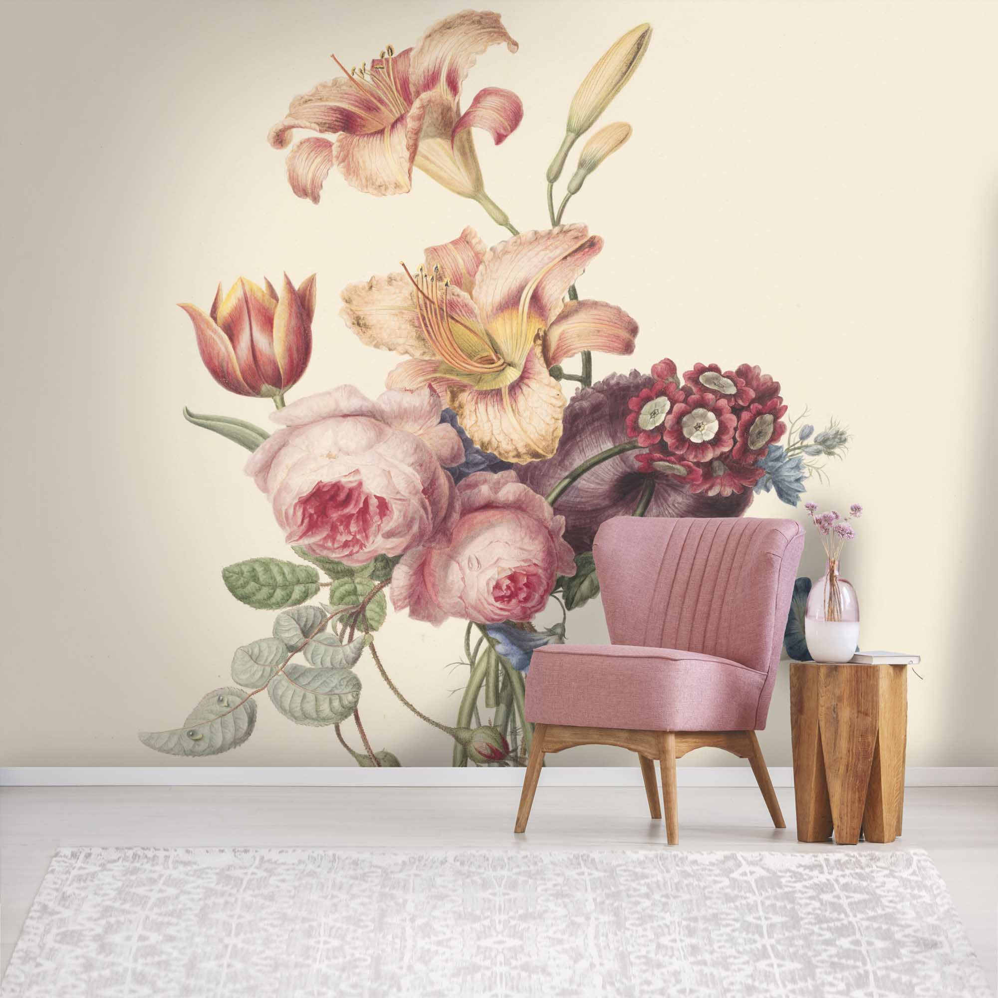 Abundance Wallpaper Mural, £245, Woodchip & Magnolia (Woodchip & Magnolia/PA)