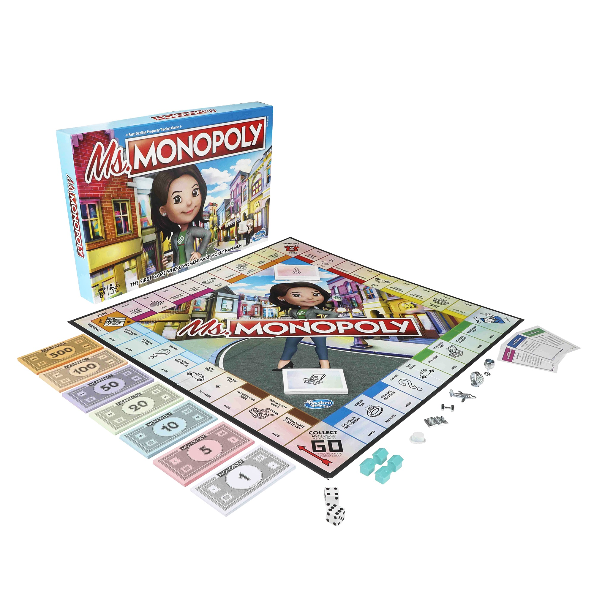 Ms Monopoly, a new game from Hasbro