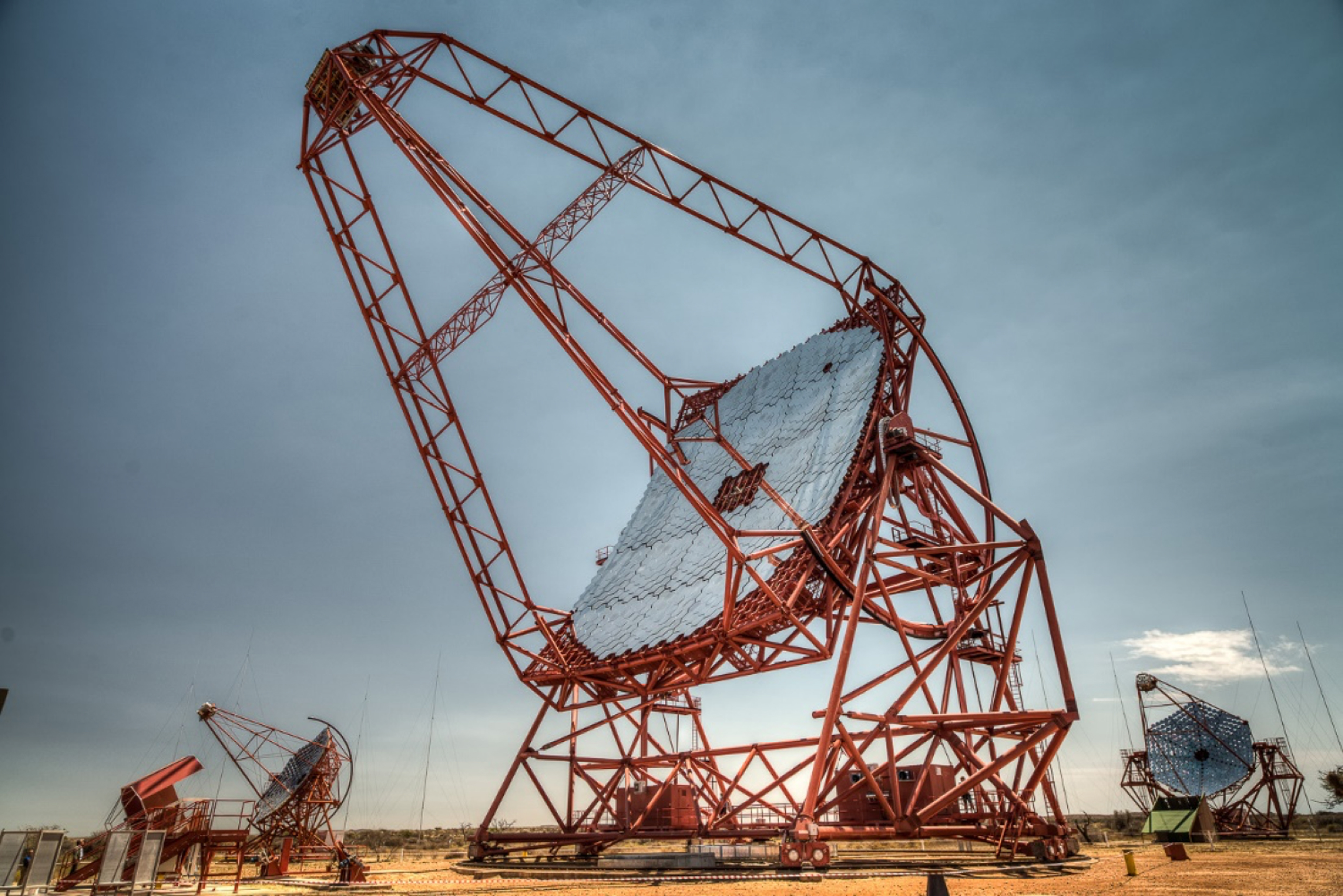 The HESS telescope in Namibia