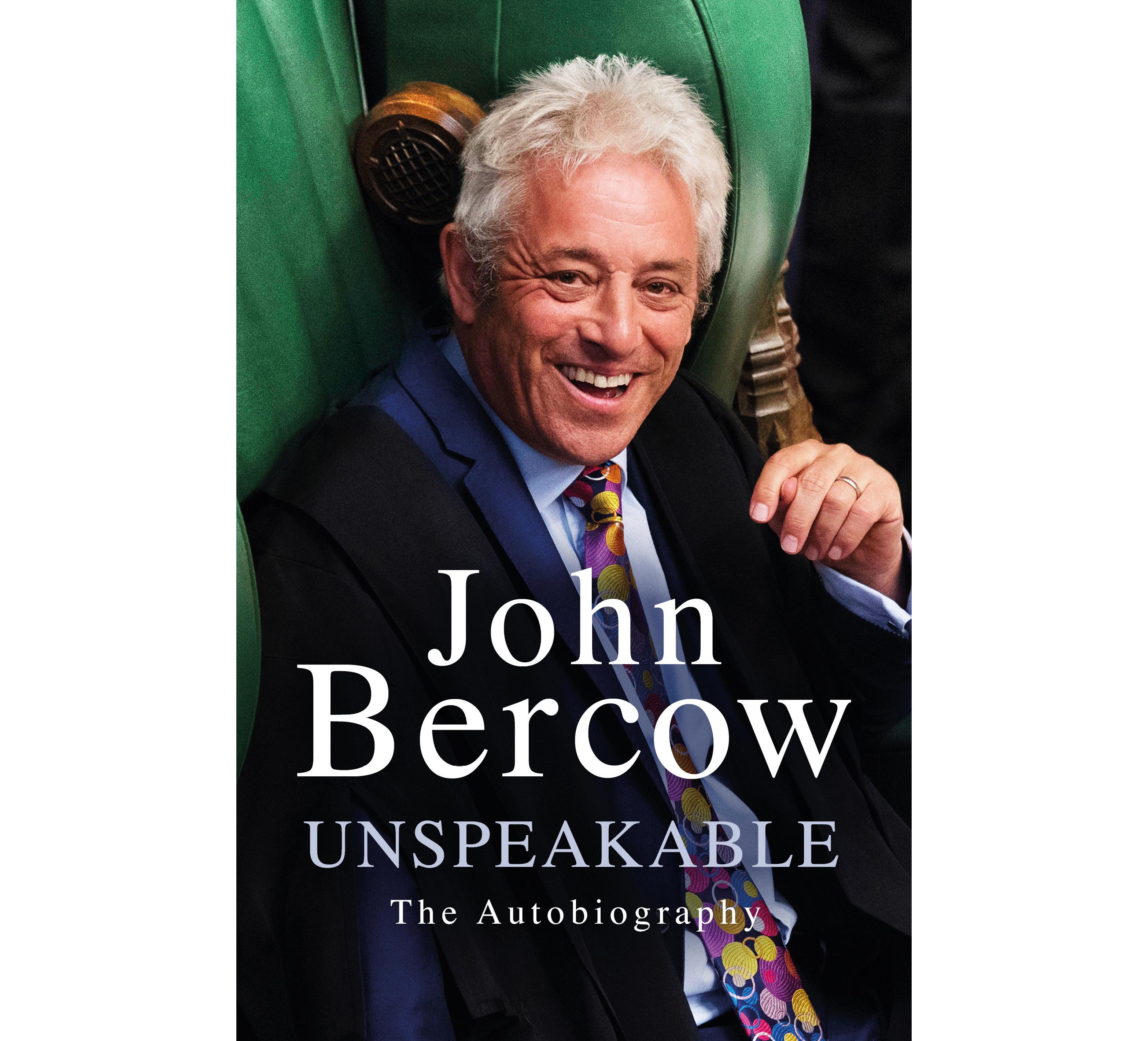 Unspeakable by John Bercow (Weidenfeld & Nicolson/PA)