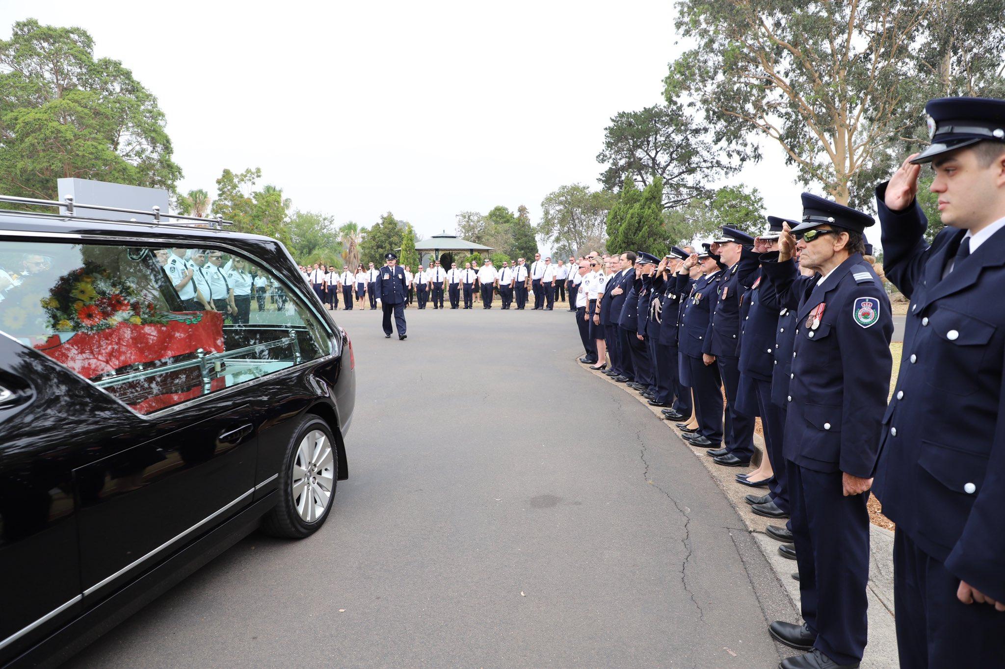 Toddler receives bravery medal for firefighter father who died battling Australian bushfire
