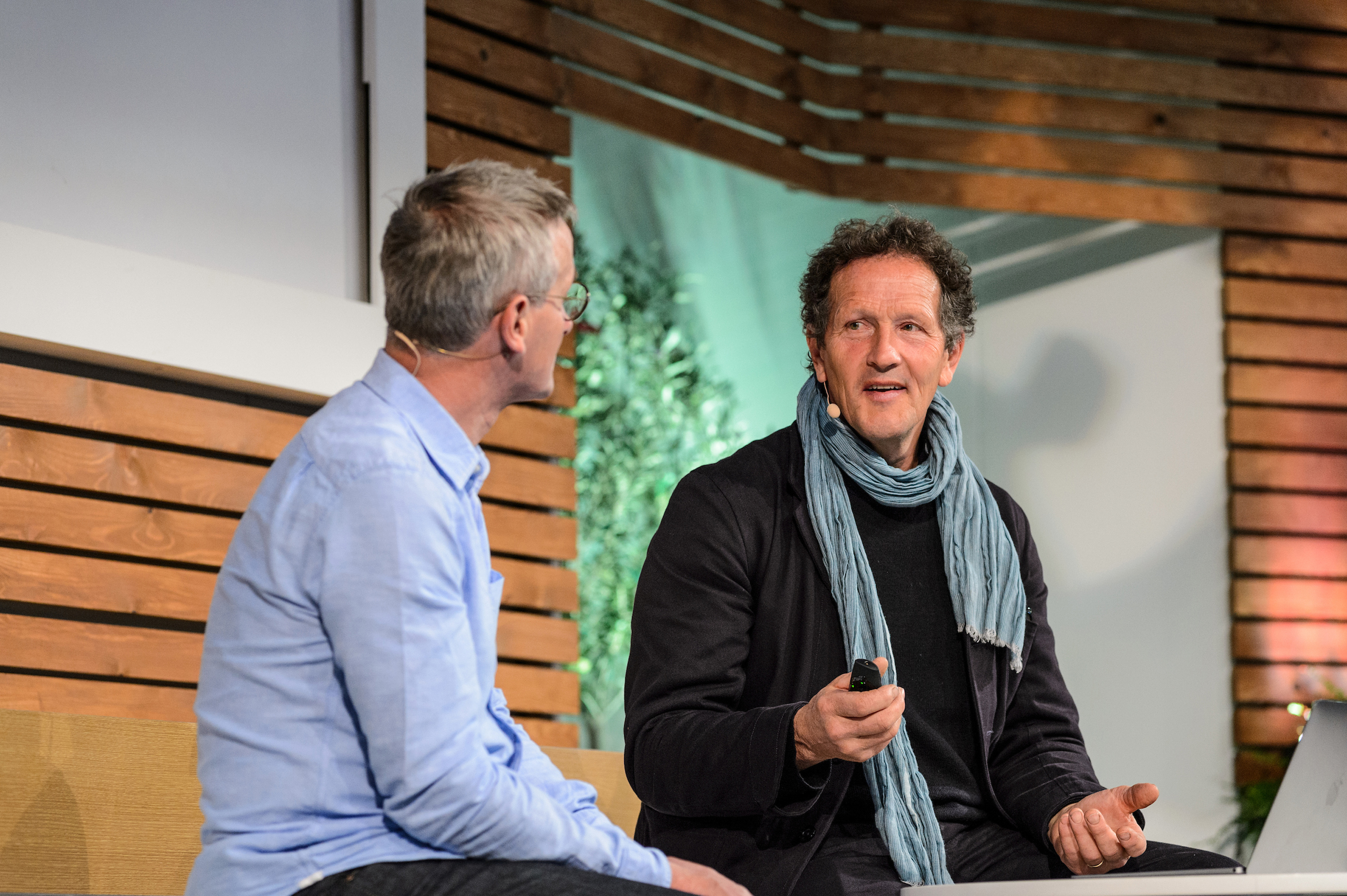 Meet Monty Don at this year's BBC Gardeners' World Live (Jason Ingram/BBC Gardeners' World Live/PA)