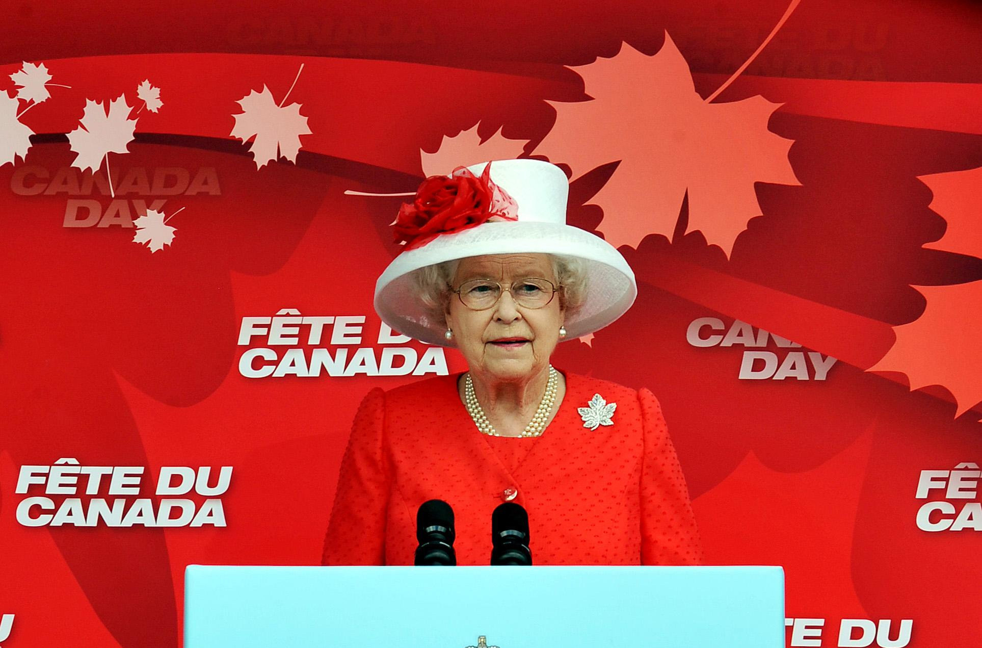 The Queen in Canada
