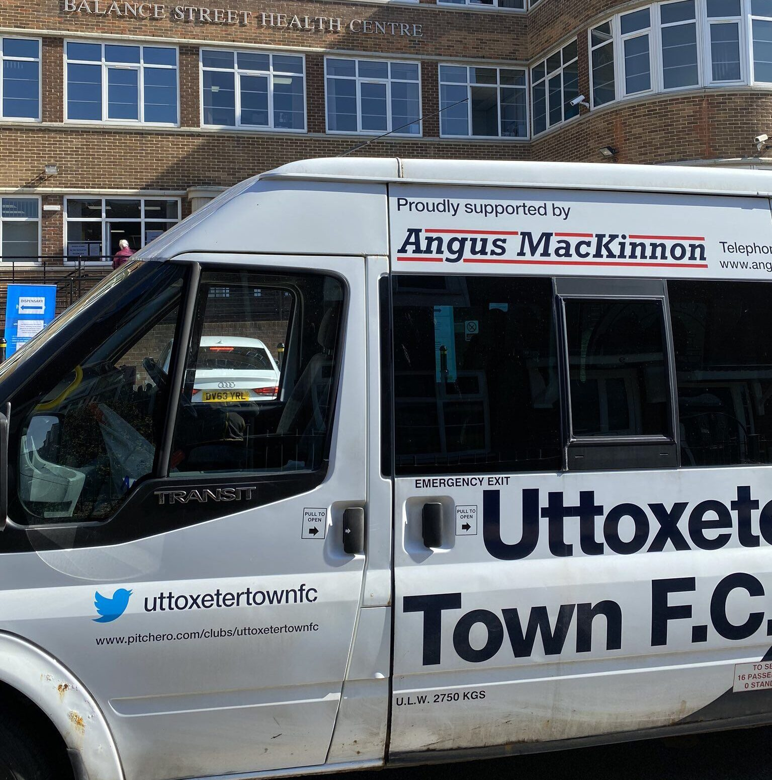 Uttoxeter Town have been delivering prescriptions in conjunction with Balance Street Health Centre