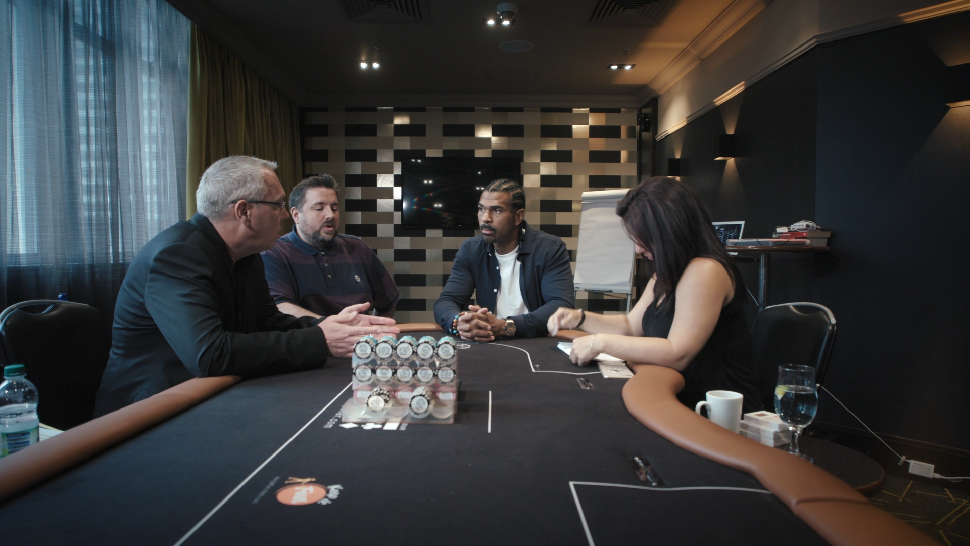 David Haye struggled to get to grips with poker at the start