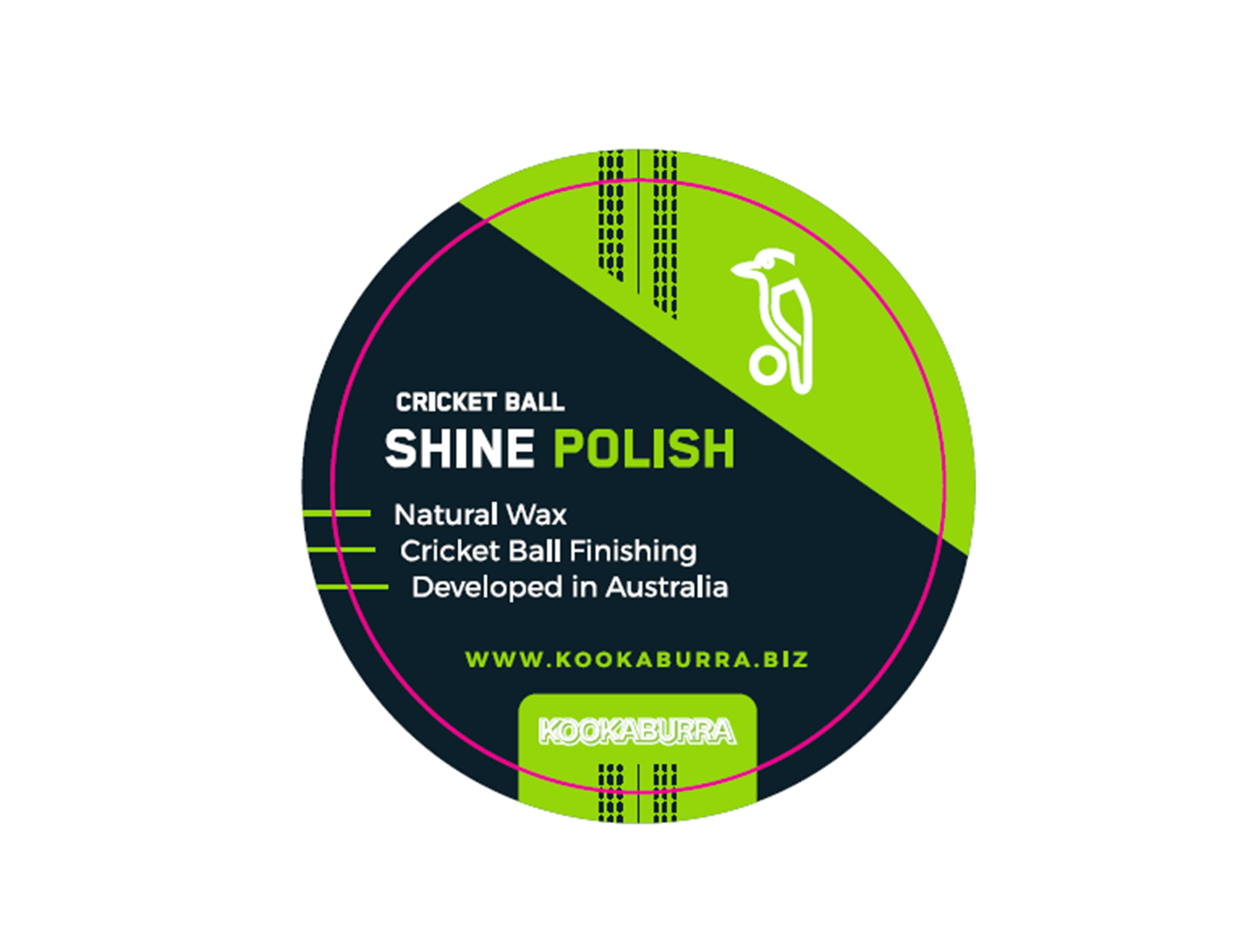 Prototype packaging for Kookaburra's new wax polish.
