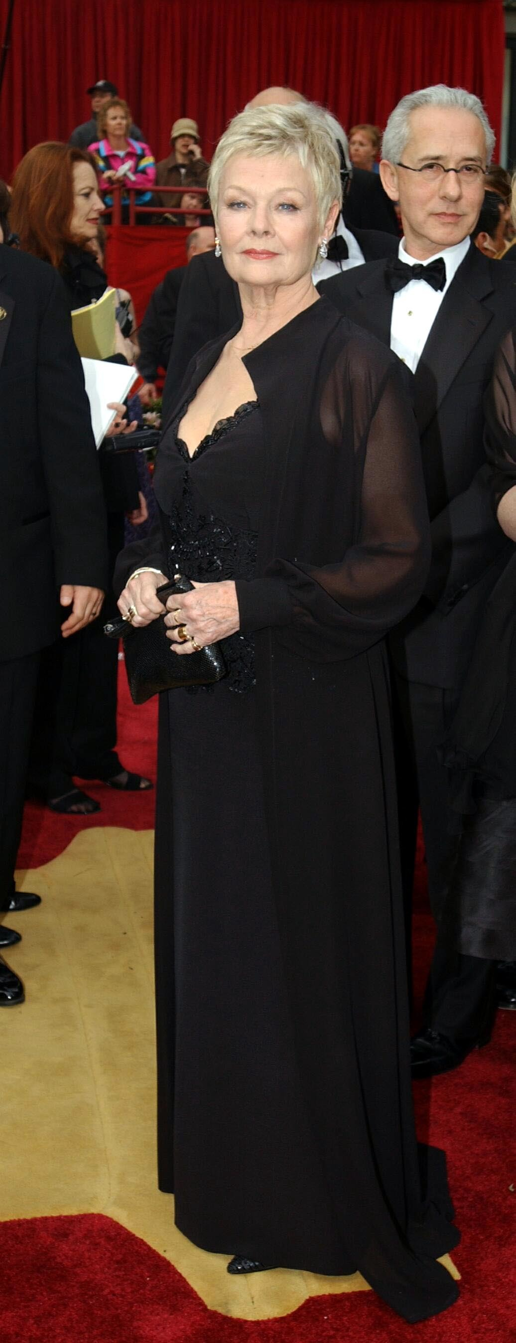 Judi Dench at the 2002 Academy Awards