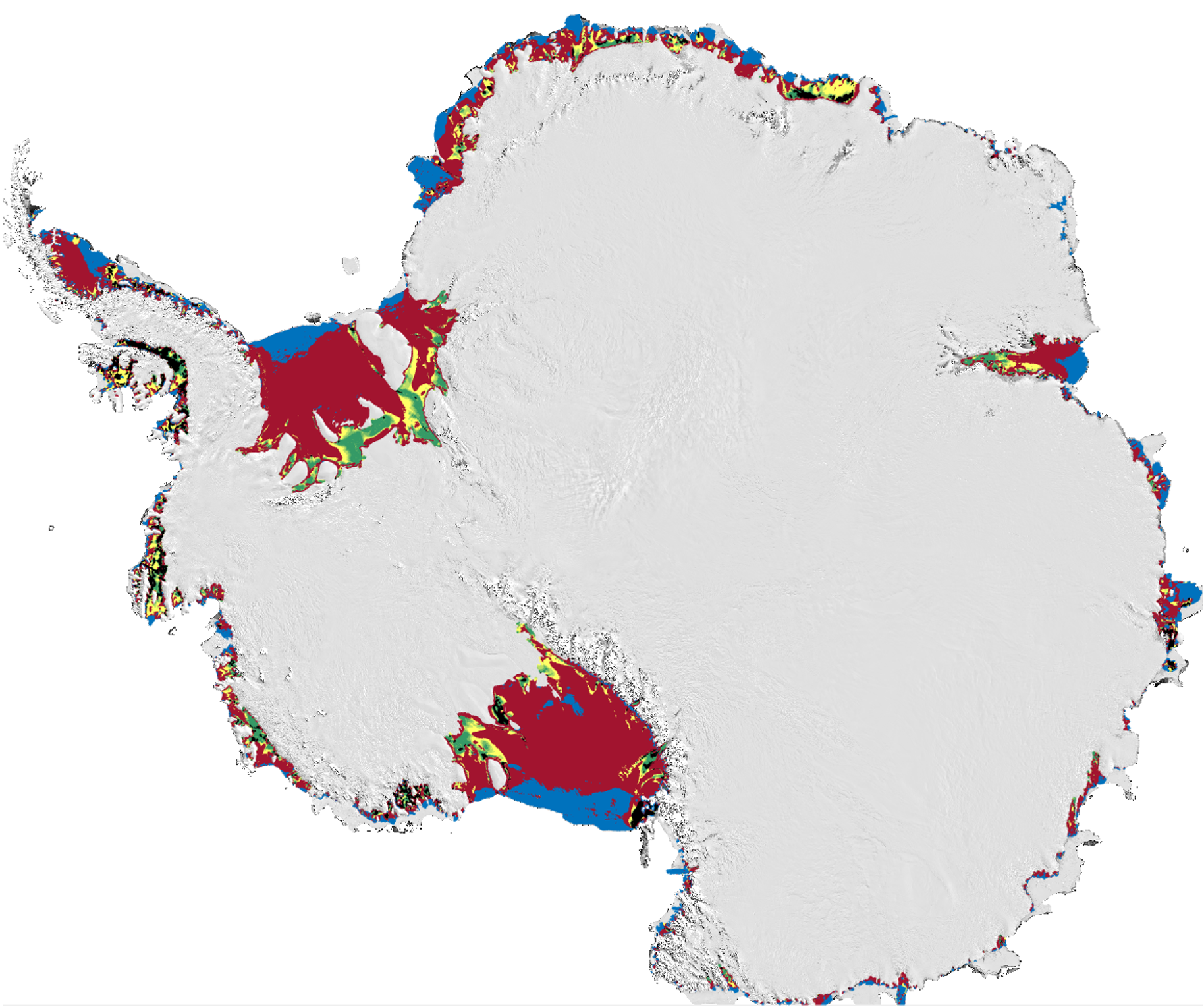 Meltwater could erode Antarctica ice shelves, study finds