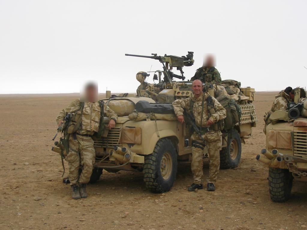 Ian Rivers a passé 27 ans dans l'armée, notamment au sein du SAS (Ian Rivers/PA).