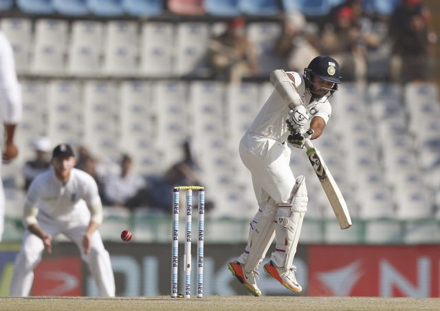 India all out for 417 in Mohali test, lead by 134 runs
