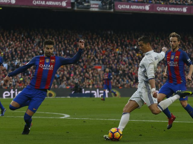 Barcelona, Real Madrid share points at Camp Nou