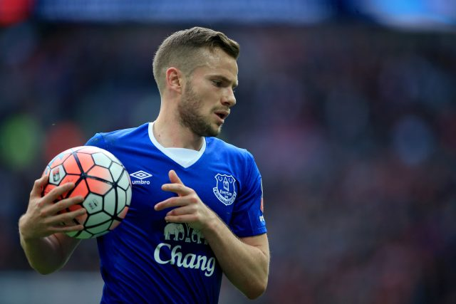 Everton's Tom Cleverley