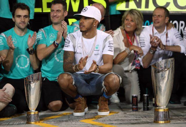 Lewis Hamilton (David Davies/PA)