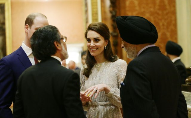The Duchess of Cambridge during a reception to mark the launch of the UK-India Year of Culture 2017