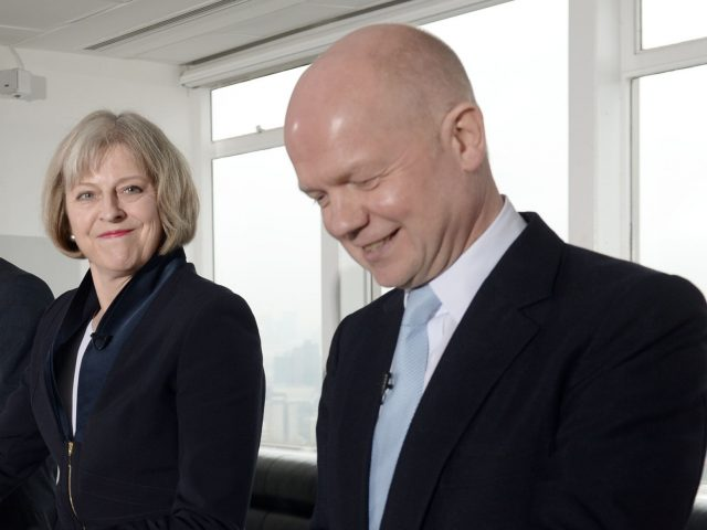 Image result for Prime Minister Theresa May should call an early general election, former Tory leader Lord Hague has urged.