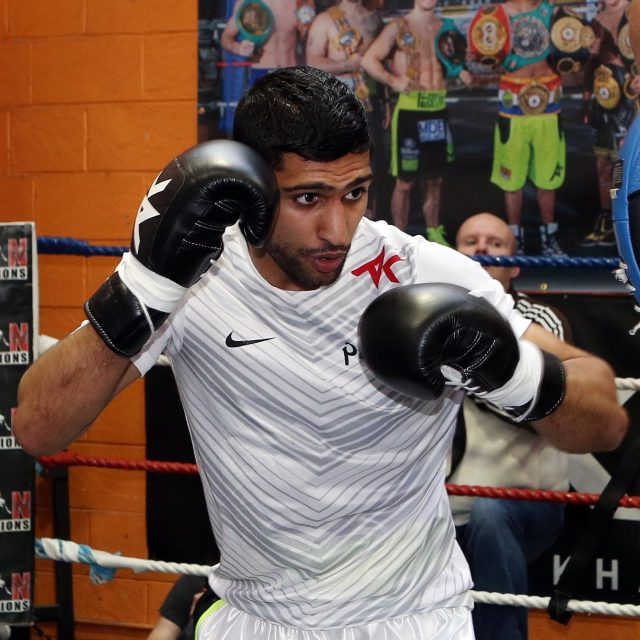 Amir Khan last fought in May 2016