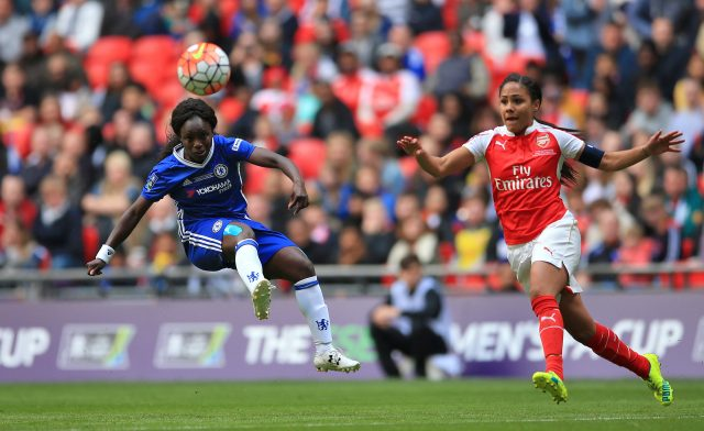 Aluko during the SSE Women's FA Cup Final (Nick Potts/PA)