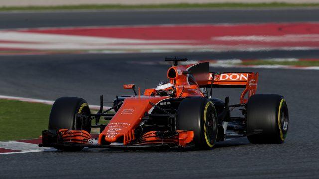 Reliability issues plagued McLaren during pre-season testing (David Davies/PA)