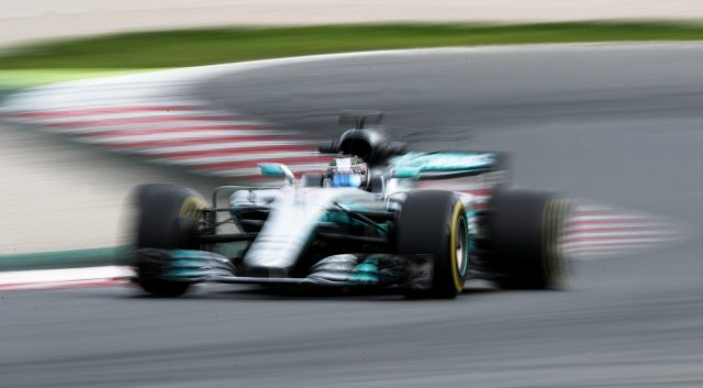 Mercedes are aiming to retain their constructors title (David Davies/PA)