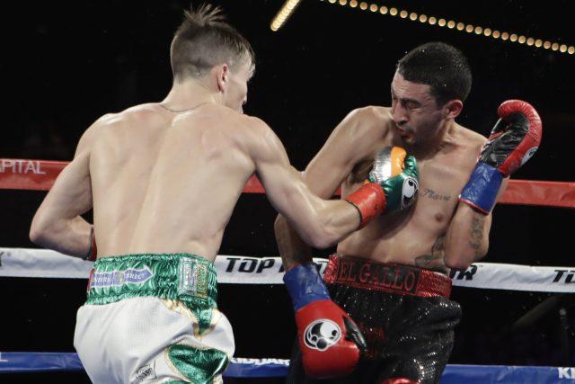 Michael Conlan, left, fights Tim Ibarra