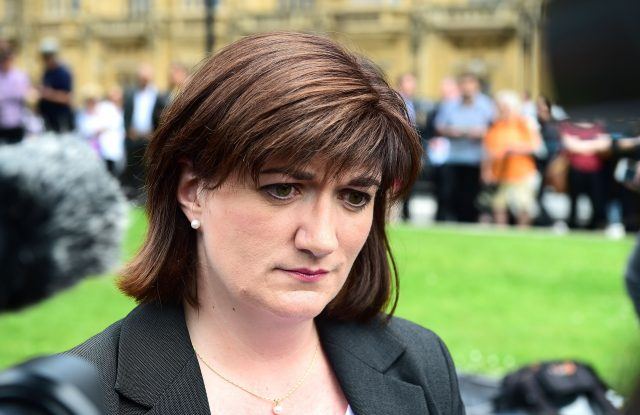 Nicky Morgan co-signed the letter (Ian West/PA)