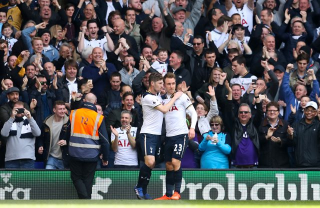 Tottenham had another victory to celebrate at White Hart Lane