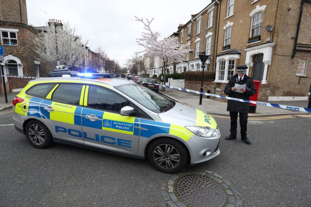 Witnesses heard a woman shouting for help on Wilberforce Road, which has been sealed off by police