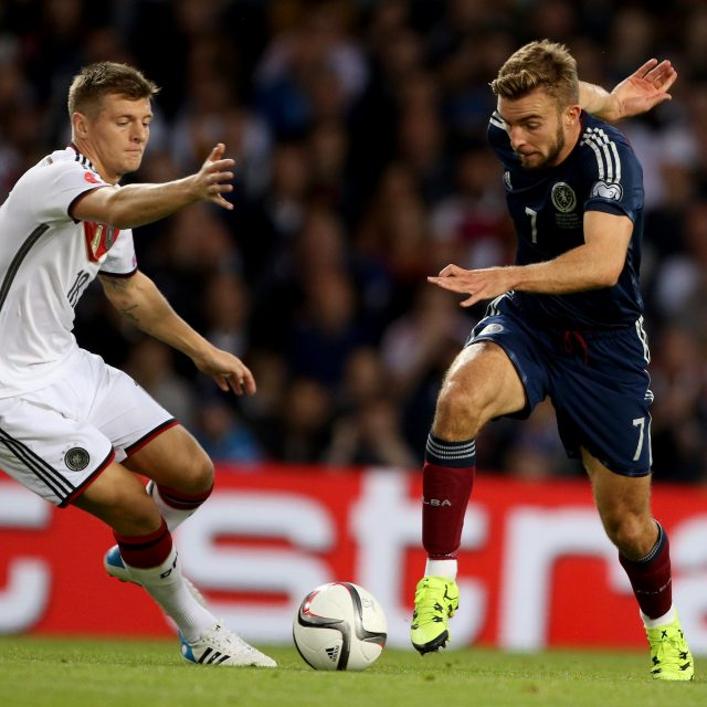 James Morrison will miss Scotland's game with Canada because of an ankle injury