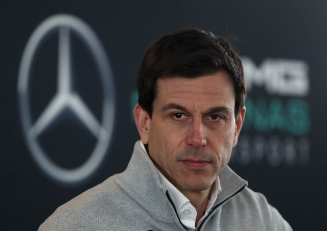 Mercedes Team Principle Toto Wolff.