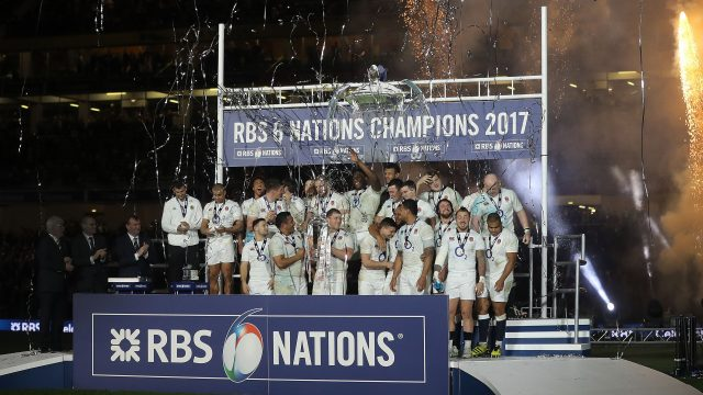 Despite defeat on Saturday, England lifted the 6 Nations title (Lorraine O'Sullivan/PA)