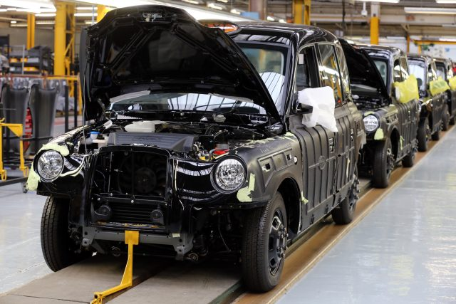 The Production Line At London Taxi Company In Coventry Chris Radburn Pa
